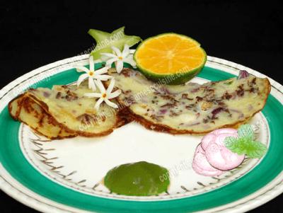 Kholasapori Pitha (Rice Pancake)