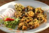 Dhaniar Bor (Coriander Leaf Fritters)