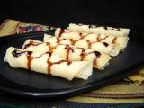 Patisepta Pitha (pancake roll)