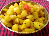 Alu Bhaji (Assamese style potato fry)