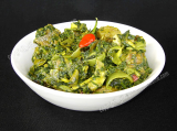 Paleng Xaakor Lagot Manxo (Mutton with Spinach)
