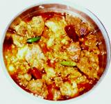 Baanhgajor Logot Gahori (Pork with Bamboo shoot)