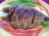 maach bhoja (Fish fry)