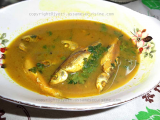 Kesa halodhir aanja (Fish with turmeric paste)