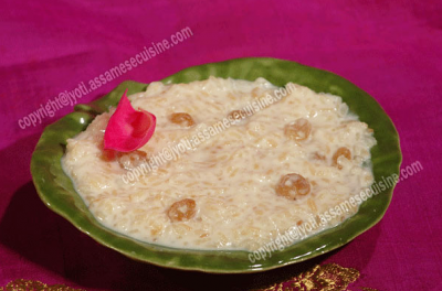 Payas (Rice Payesh)