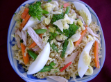 Rich mixed fried rice
